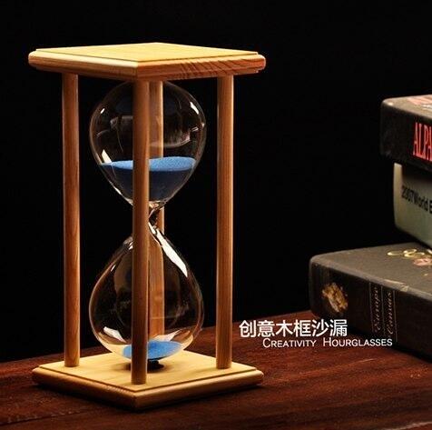 沙漏計時器30分60分鐘創意家居客廳裝飾品擺件生日節日禮物