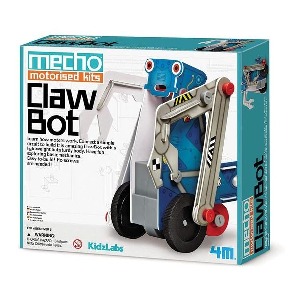 小小工程師 怪手工程車 Mecho Motorised Kit ClawBot
