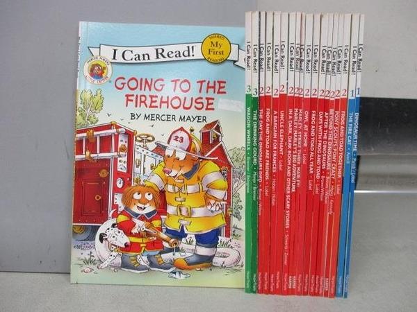 【書寶二手書T1/語言學習_RFC】I Can Read-Going to The Firehouse等_共19本合售