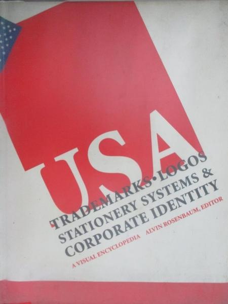 【書寶二手書T3/設計_J9E】Trademarks, logos stationery systems & corporate identity USA