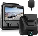 LivNGPAi【美國代購】4K行車記錄器 UHD 2880x2160P G傳感器WiFi GPS
