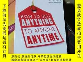 二手書博民逛書店how罕見to sell anything to anyone