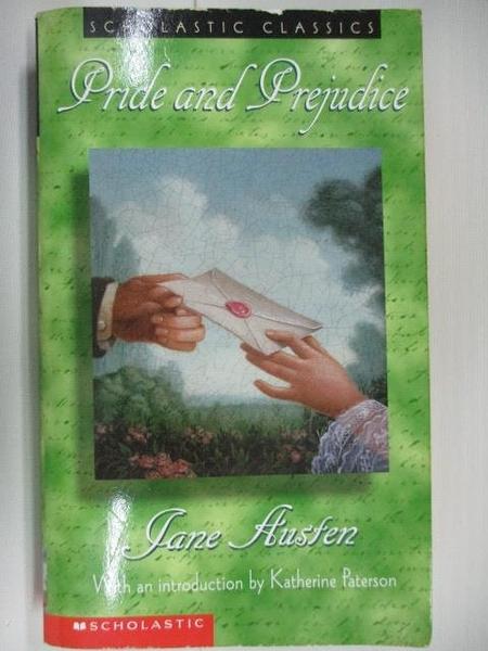 【書寶二手書T7/原文小說_AIA】Pride and Prejudice_Jane Austen