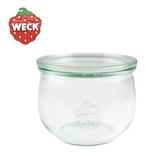 德國Weck圓弧玻璃罐附蓋580ml