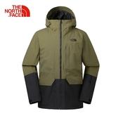 The North Face 男 DRYVENT 滑雪外套 軍綠 NF0A39X1WMB【GO WILD】