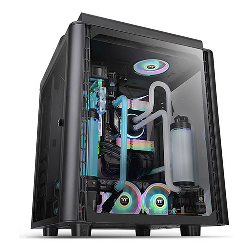 【客訂商品】 Thermaltake 曜越 Level 20 HT 高直立式 強化玻璃 E-ATX 機殼 CA-1P6-00F1WN-00