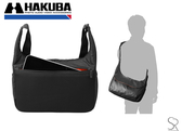 【430g超輕量】HAKUBA 天行者 LUFTDESIGN URBAN LIGHT SHOULDER BAG L BLACK 防潑水 HA205114