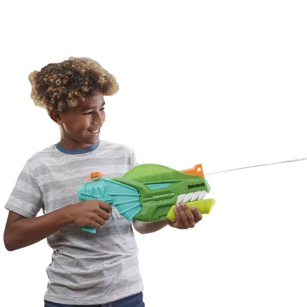 NERF超威水槍 恐龍限定水槍