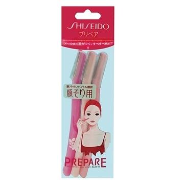 【福利品】SHISEIDO 資生堂 PREPARE 修顏刀(L) 3枚入