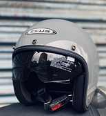 ZEUS 瑞獅安全帽,ZS-388,zs388,素色/熊熊灰(水泥灰)