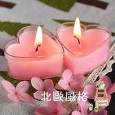 30支心形香薰蠟燭無煙浪漫心型玫瑰愛心小臘燭創意生日小蠟燭禮盒全館滿千88折