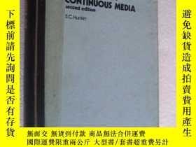 二手書博民逛書店Mechanics罕見of Continuous Media 《