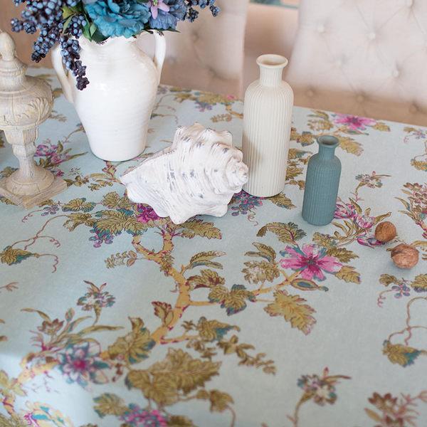 時尚優雅空間餐桌布 茶几布 隔熱墊 鍋墊 杯墊 餐桌巾61 (90*90cm)