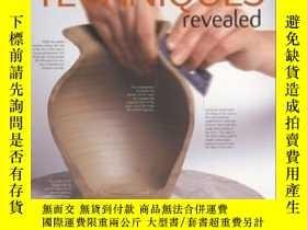 二手書博民逛書店Thrown罕見Pottery Techniques Revealed-拋陶技藝揭曉Y436638 Mary