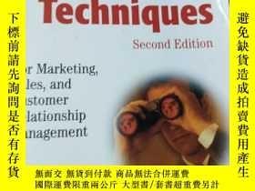 二手書博民逛書店DATA罕見MINING TECHNIQUES:For Marketing, Sales, and Custome