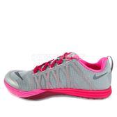 WMNS Nike Lunar Cross Element [653528-003] 女鞋 多功能 訓練 灰 粉紅