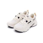 FILA 女款米色運動慢跑鞋-NO.5J329U113