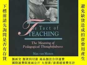 二手書博民逛書店The罕見Tact Of TeachingY256260 Max Van Manen Althouse Pre