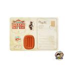 【收藏天地】印章明信片*西門紅樓 ∕  印章 擺飾 送禮 趣味 文具 創意 觀光 記念品