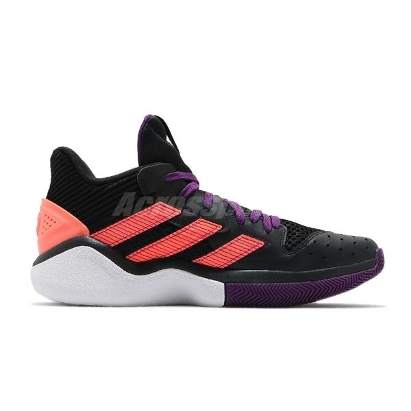 adidas 籃球鞋 Harden Stepback 黑 紫 橘 男鞋 運動鞋 Jame Harden 【ACS】 EF9889