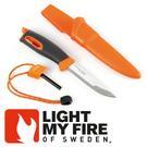 【Light My Fire 瑞典 魔術火刀 橘】LF1211-36/魔術火刀/戶外刀具/戶外生火