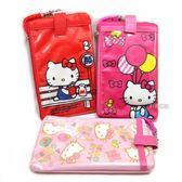 Hello Kitty 防潑水手機袋 (附頸繩)【三麗鷗正版】