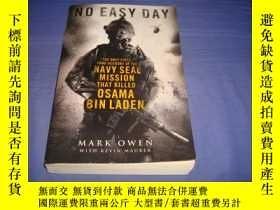 二手書博民逛書店No罕見Easy Day: The Only First Hand Account of the Navy SEA