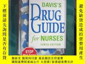 二手書博民逛書店Davis s罕見Drug Guide for Nurses 1