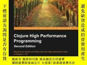 二手書博民逛書店Clojure罕見High Performance Programming - Second EditionY