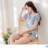 《AB12822-》愛戀花朵蕾絲織帶造型方領透膚公主袖上衣 OB嚴選