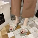 拖鞋女外穿夏新款時尚百搭平底