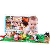 好質量!3D布書早教嬰兒 寶寶兒童玩具撕不爛幼兒新生兒禮物禮盒【小梨雜貨鋪】