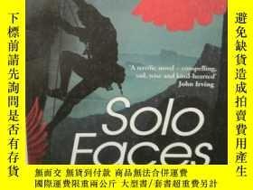 二手書博民逛書店詹姆斯·索特罕見Solo Faces by James Salt