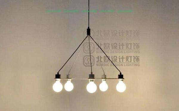 宜家客廳燈餐廳燈燈Link lapm五邊形吊燈 MY~燈飾532