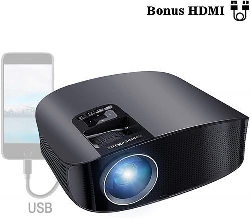 【日本代購】beamerking WS610家用投影機1080P 全高清3500流明 家庭影院 HDMI