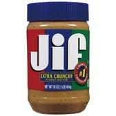 JIF顆粒花生醬454g【愛買】