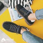 透氣休閑皮鞋男士低幫運動板鞋韓版學生潮流男鞋子