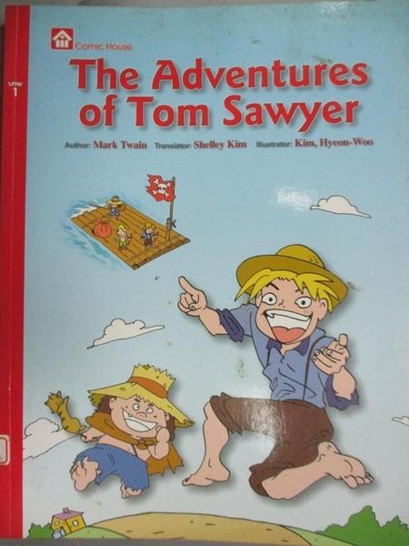 【書寶二手書T5/少年童書_YCR】The Adventures of Tom Sawyer_Samuel Langho