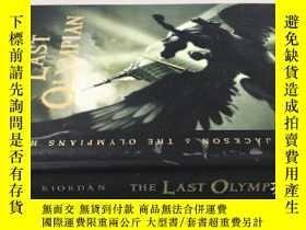 二手書博民逛書店THE罕見LAST OLYMPIAN 精裝Y20113 Rick
