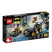76180【LEGO 樂高積木】DC 超級英雄系列 - 蝙蝠俠對決小丑:蝙蝠車追逐