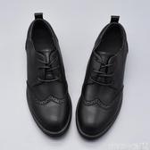 牛津鞋版型超好 修腳百搭經典布洛克女單鞋英倫復古學院牛津學生小皮鞋 衣間迷你屋