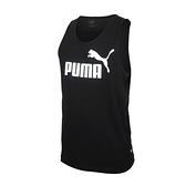 PUMA 男Logo休閒背心(歐規 無袖上衣 純棉 慢跑≡體院≡ 58667001