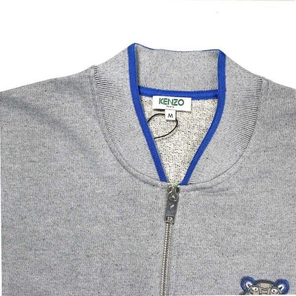 【KENZO】Jacket MAN 拉鍊夾克(灰) F655BL7184MA 93