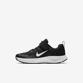 Nike Wearallday (ps) [CJ3817-002] 中童鞋 慢跑 運動 休閒 輕量 支撐 緩衝 彈力 黑