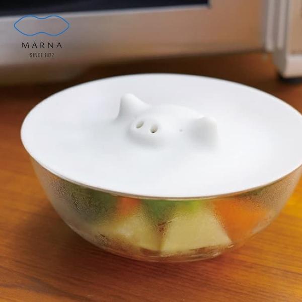 【MARNA】 日本進口豬豬造型微波蓋