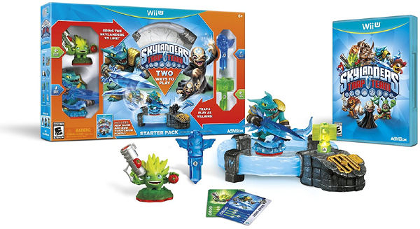 WiiU Skylanders Trap Team Starter Pack(美版代購)