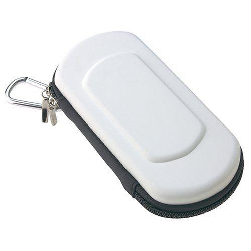 PSP專用 日本 CYBER Gadret EVA 耐衝擊 半硬包 硬殼包 主機包 保護包 白色款【玩樂小熊】