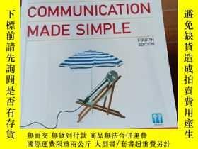 二手書博民逛書店Speech罕見Communication Made Simple 2Y406185 PAULETTE DAL
