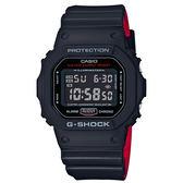 CASIO 卡西歐 DW-5600HR-1(DW-5600HR-1DR)G-SHOCK 防水 手錶