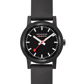 MONDAINE 瑞士國鐵essence系列腕錶-32mm/黑 32120RB